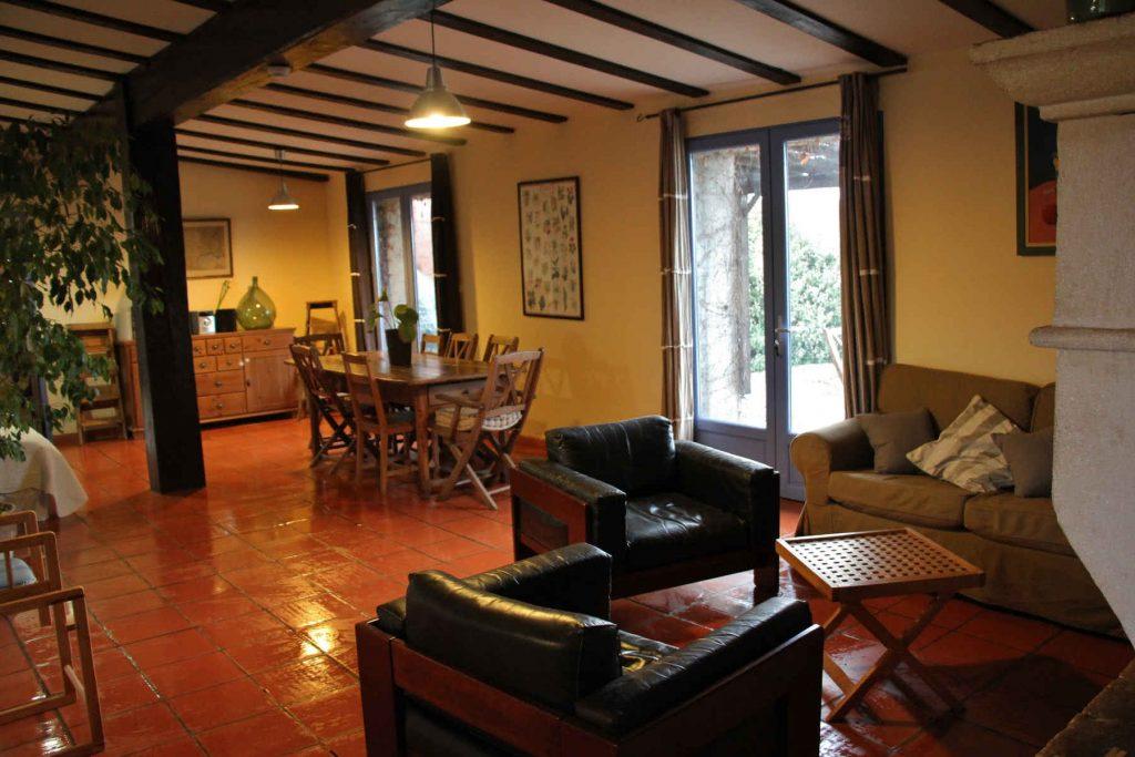 Petit salon et salle à manger