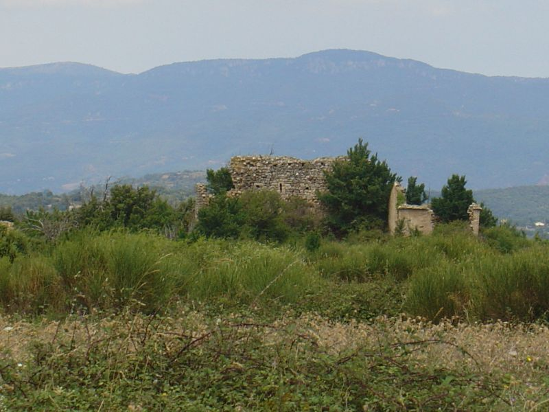 Ruines de la chapelle Saint-Gely
